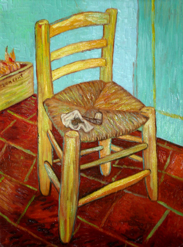 gogh la chaise